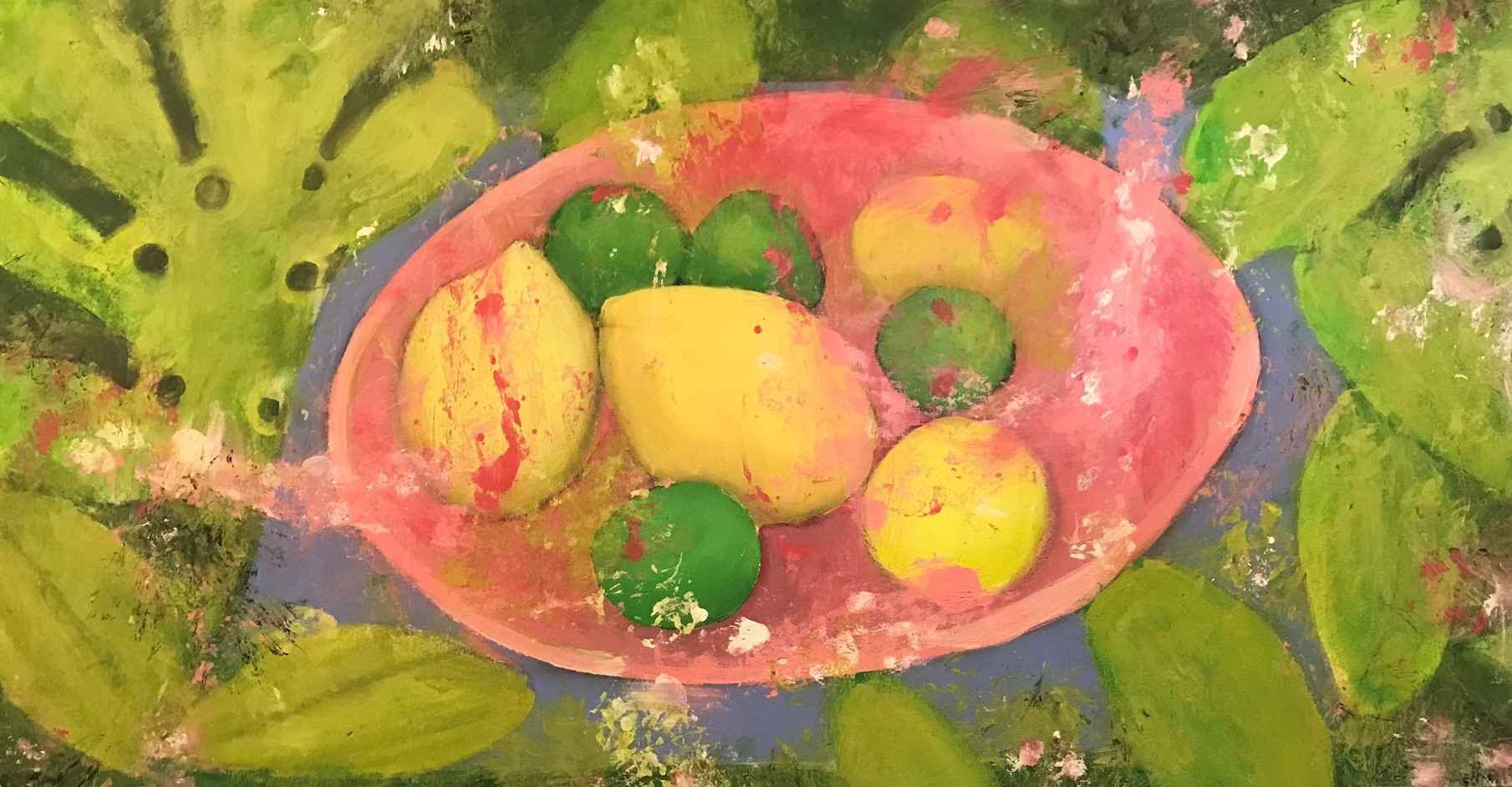 LEMON LIME SUMMER by KAREN OBRIEN