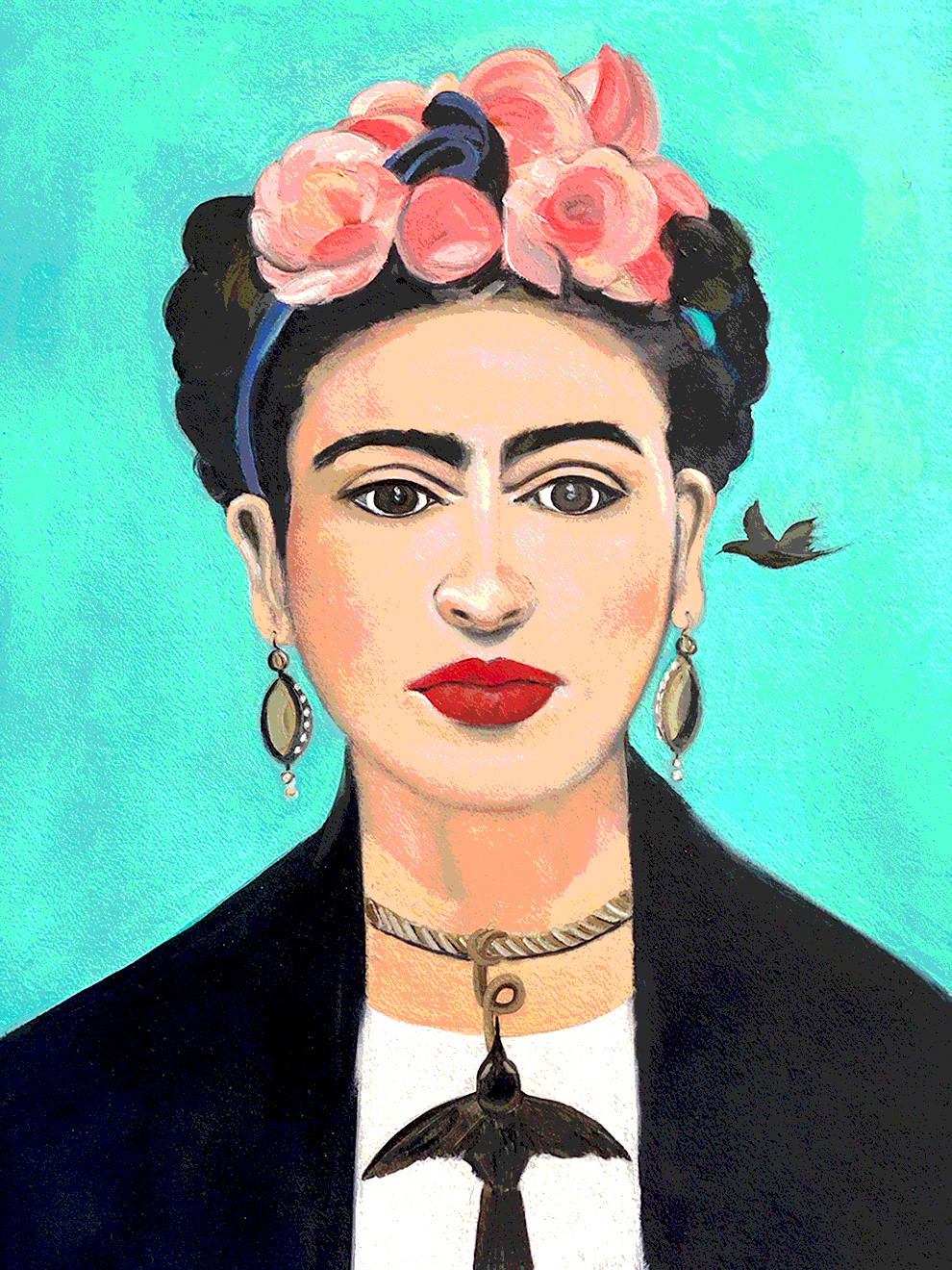 HOMAGE TO KAHLO by SHEILA OLIVEIRA